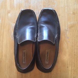 Steve Madden Brown Loafers Size 10